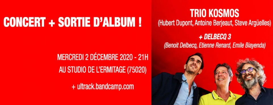 Hubert Dupont Trio Kosmos